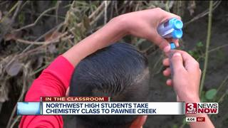 Northwest High students research at Pawnee Creek
