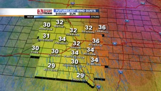 Strong Winds Kick In Sunday