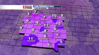 Record Cold Hits Omaha