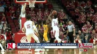 Nebraska defeats Southeastern Louisiana 87-35