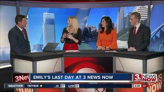 After more than five years Emily says goodbye