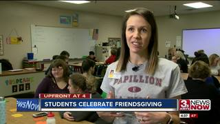 Students practice life skills at Friendsgiving