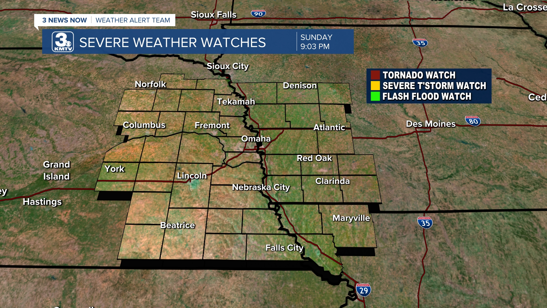 Watches - Prism Weather Alerts